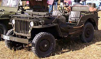 Willys MB - Once the jeep's design had converged, and was standardized, Ford and  Willys built over 600,000 jeeps virtually identical to this 1944 MB