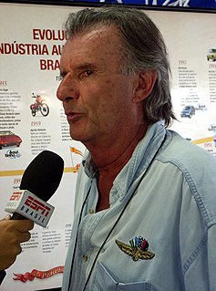 Wilson Fittipaldi Júnior Brazilian racecar driver and team owner