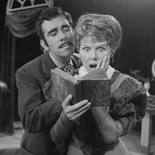 Wim van den Heuvel en Yoka Berretty (1961)