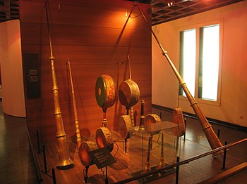 Wind instruments in the Musical Instrument Mus...