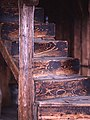 Winding staircase of a turret.jpg