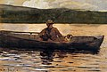 Winslow Homer - The painter Eliphalet Terry fishing from a boat (1874).jpg