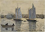 Winslow Homer - Two Schooners, Gloucester.jpg