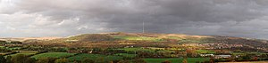 Winter Hill (North West England) - Panorama of Winter Hill, taken from Blackrod
