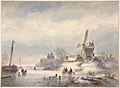 Winter Landscape with Frozen River MET DP800037.jpg