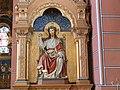 Witterschnee Kirche Seitenaltar rechts Christus.jpg