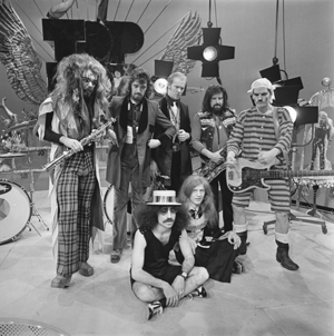 Roy Wood - Roy Wood (left) with his band Wizzard, 1970s
