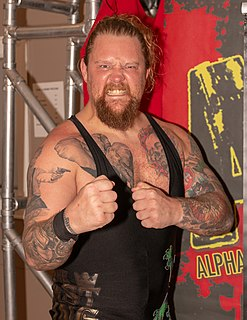 Wolfgang (wrestler) Scottish professional wrestler