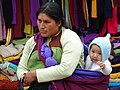 Woman with Child - Chamula - Chiapas - Mexico (15041787754).jpg