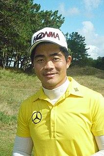 Liang Wenchong Chinese golfer