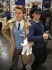 WonderCon 2012 - Tintin and Captain Haddock (6873353772).jpg