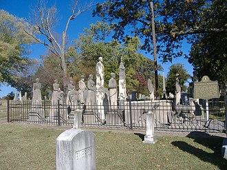 Mayfield, Kentucky - Wooldridge Monuments