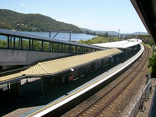 Woy Woy railway station
