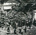 Wreckage after bombing 3, Impressions of the Fight ... in Indonesia, p25.jpg