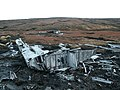 Wreckage of the Botha on Round Hill - geograph.org.uk - 651050.jpg