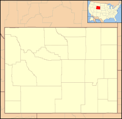 Antelope Hills is located in Wyoming