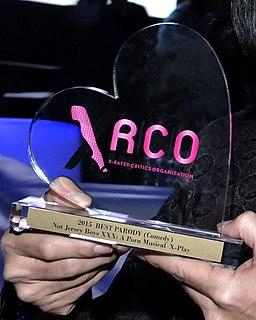 XRCO Award Adult entertainment industry award