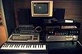 Yamaha CX5M Music Computer set & Akai S612 sampler, Musée des Instruments de Musique, Brussels.jpg