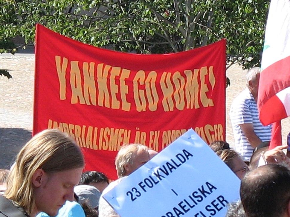 Yankee go home