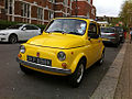 Yellow Fiat 500 'Topolino' - Flickr - yvescosentino (1).jpg