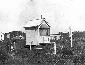 Moreton Island lighthouses - Yellow Patch Light, 1917