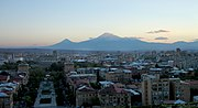Yerevan-sunset