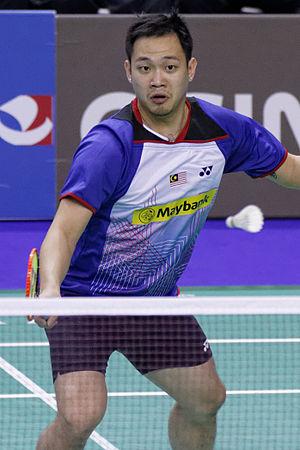 Koo Kien Keat - Image: Yonex IFB 2013 Eightfinal Koo Kien Keat Tan Boon Heong — Michael Fuchs Johannes Schöttler 05