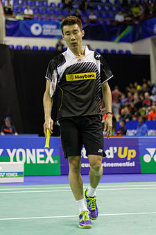 Lee Chong Wei na turnaji French Open 2013