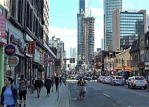 Sir George Yonge, 5th Baronet - Yonge Street, Toronto