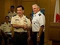 Yoshifumi Hibako and George W Casey Jr 20090824.jpg