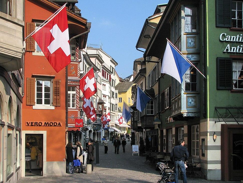 Zürich - Augustinergasse IMG 2046
