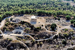 Sepphoris - Aerial view of Sepphoris, 2013