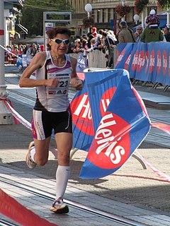 Helena Javornik Slovenian long-distance runner