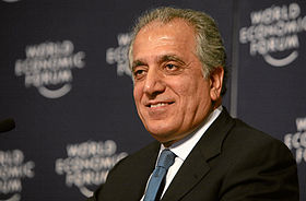 Zalmay Khalizad - World Economic Forum Annual Meeting Davos 2008.jpg