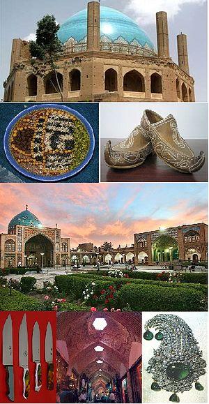 Zanjan, Iran - Image: Zanjan profile