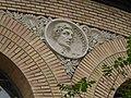 Zaragoza - Antigua Facultad de Medicina - Medallón - Gutierrez.jpg