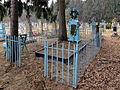 Zastavne Ivanychivskyi Volynska-brotherly grave warriors-habitants of village which died in WWI&II-general view.jpg