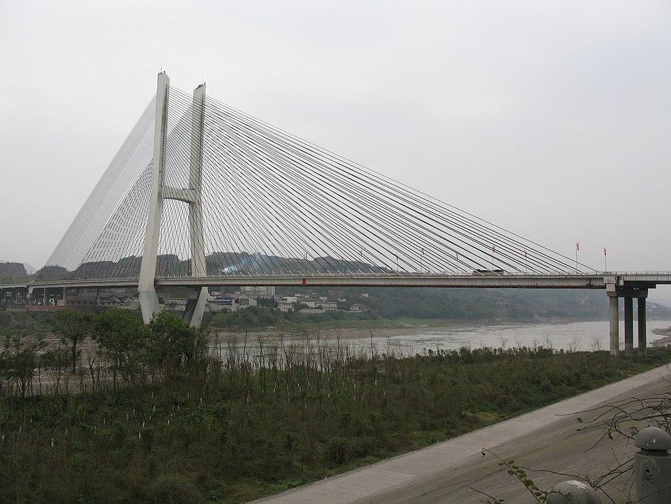 Zhongba Bridge over the Jingsha River in Yibin.jpg