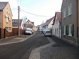 Kurze Straße in Zwenkau