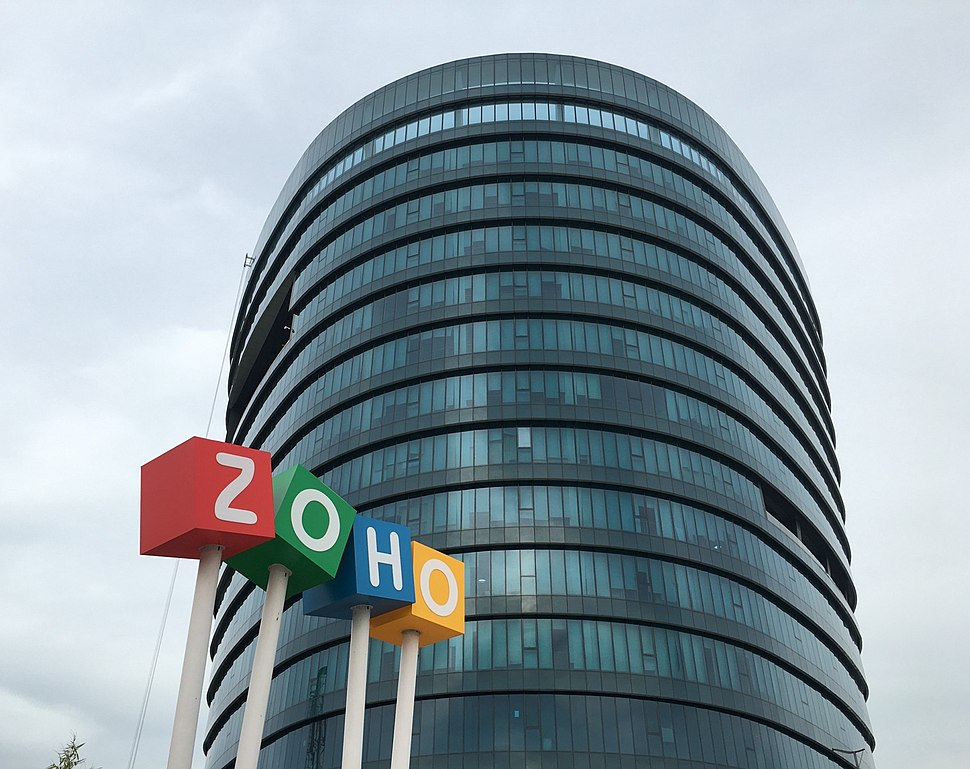 Zoho headquarters in chennai