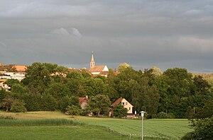 Zumikon - Image: Zumikon von Norden