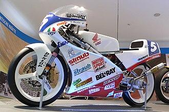 Dirk Raudies - Dirk Raudies' 1993 Championship-winning Honda RS125R