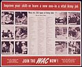 """Improve Your Skill-or Learn a New One - In a Vital Army Job-Join the WAC's Now"" - NARA - 514613.jpg"
