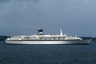 "Celebrity Cruises - Image: ""Meridian"" San Blas Islands, 1993"