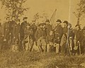 """Officers of the Third Regiment Missouri Volunteers taken at Corinth, Mississippi, 28 October 1863."" (cropped).jpg"