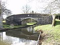 """Pollets"" Bridge on the Llangollen Canal - geograph.org.uk - 51988.jpg"