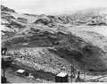 """""""Rock excavation operations at elevation 1010, site of the proposed Eastmix concrete plant."""" - NARA - 294222.tif"""