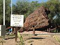""""""" Parque natural cultural Pigüen N'Onaxa"""",Campo del Cielo. Provincia del Chaco. El segundo meteorito mas grande del mundo..jpg"""