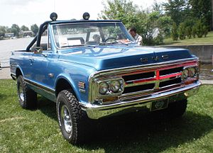 Chevrolet K5 Blazer - 1970 GMC Jimmy