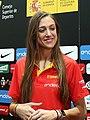 (Tamara Abalde) Pedro Sánchez visita a la selección española femenina de baloncesto antes del Eurobasket 2019.jpg